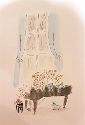 Klavier Kinder singen